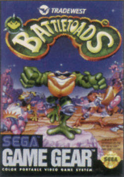 Battletoads sur G.GEAR