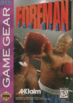 Foreman for Real sur G.GEAR