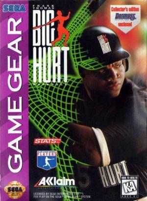 Frank Thomas Big Hurt Baseball sur G.GEAR