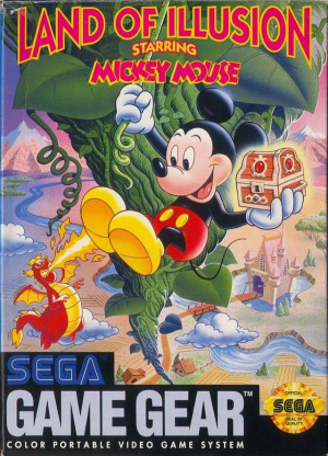 Land of Illusion starring Mickey Mouse sur G.GEAR