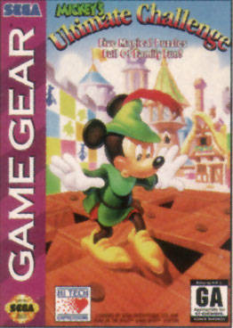 Mickey's Ultimate Challenge sur G.GEAR