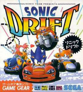Sonic Drift sur G.GEAR