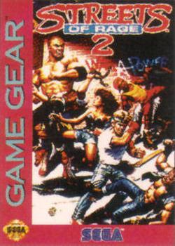 Streets of Rage 2 sur G.GEAR