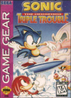 Sonic the Hedgehog : Triple Trouble sur G.GEAR