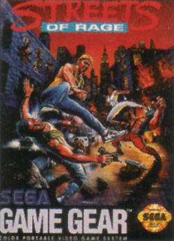 Streets of Rage sur G.GEAR