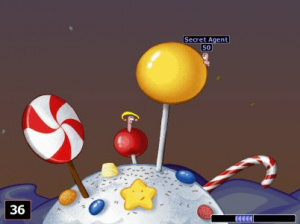 Worms World Party sur Gizmondo
