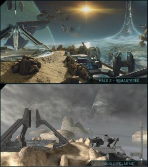 E3 2014 : Halo 2 comparé sur One et Xbox