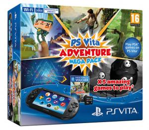 La PS Vita présente son Méga Pack Aventure