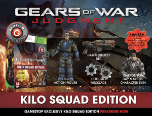 Gears of War Judgment : Les versions exclusives