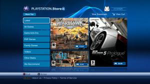 Une nouvelle interface PlayStation Store en chantier