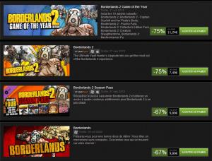 Borderlands 2 est gratuit ce week-end et soldes chez 2K