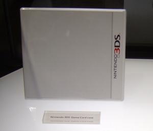E3 2010 : Les boîtes et cartouches 3DS