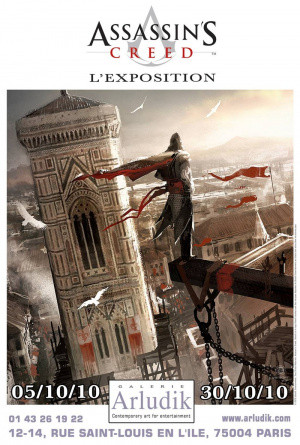 Une exposition Assassin's Creed à Paris