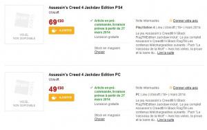 Assassin's Creed 4 : Une édition spéciale avec tous les DLC en mars ?
