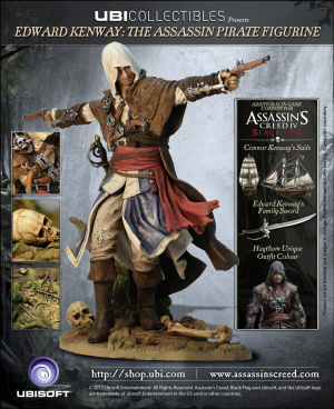 Les éditions collector d'Assassin's Creed 4