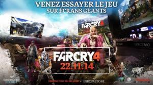 Envie de jouer à Far Cry 4 au cinéma ce week-end ?