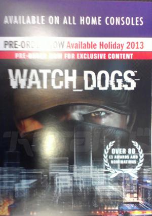 Watch Dogs pour Noël 2013 sur toutes les consoles ?
