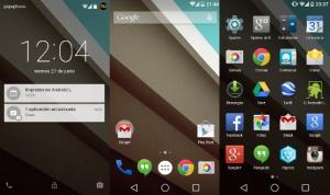 Android 5 (Lollipop) et le Nexus 6 présentés