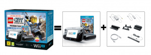 Un pack Wii U + Lego City Undercover
