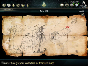 La Companion App d'Assassin's Creed 4