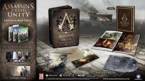 E3 2014 : Assassin's Creed Unity, le détail des versions collector