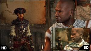 Comparatif SD / HD et détails pour le remake d'AC : Liberation