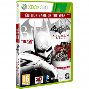 Batman : Arkham City Game of the Year Edition disponible