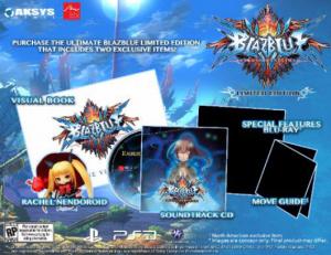 BlazBlue : Date de sortie US et édition limitée