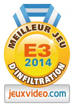 Meilleur jeu d'infiltration : Metal Gear Solid V : The Phantom Pain /  PS4-One-PS3-360