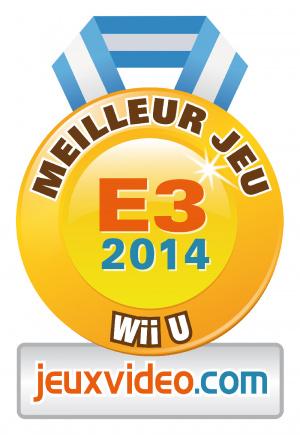 Meilleur jeu Wii U : Super Smash Bros. for Wii U