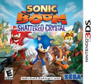 Sonic Boom : Deux jaquettes et deux dates US