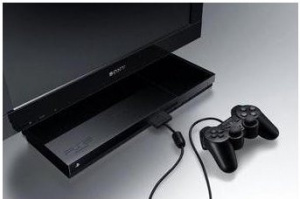Une TV Sony avec PS2 embarquée