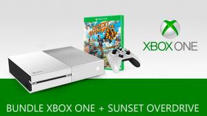 Gamescom : Un bundle Sunset Overdrive avec Xbox One blanche