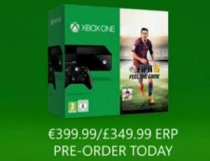 Gamescom: Un bundle FIFA 15 Xbox One