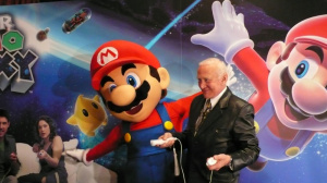 Super Mario Galaxy : interview de Buzz Aldrin