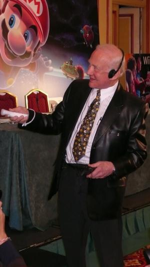 Super Mario Galaxy : interview de Buzz Aldrin