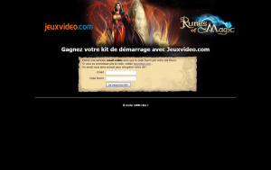 Bêta de Runes of Magic : gagnez 1 000 Kits de Démarrage