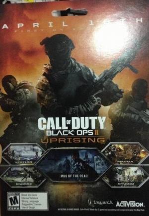 CoD : Black Ops 2 : Uprising : Les maps détaillées