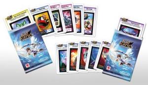 Des cartes Panini aux couleurs de Kid Icarus