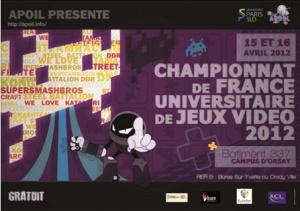 4ème Championnat de France Universitaire de jeux vidéo