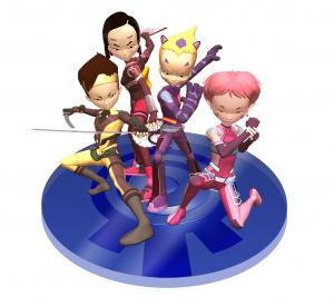 Images : Code Lyoko sur Wii