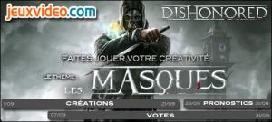 Résultats du concours de septembre - Les masques