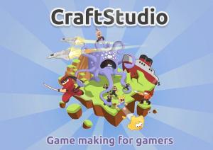 Créez votre propre jeu avec Craftstudio
