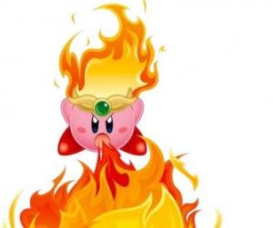 Les transformations de Kirby : Aiguille, Feu, Rayon et Bombe