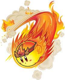 Les transformations de Kirby : Brûlure, Fighter, Gel et OVNI