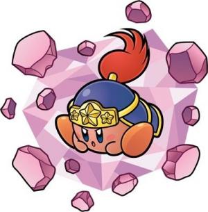 Les transformations de Kirby : Roue, Rocher, Etincelle et Tornade