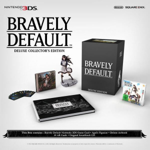 Bravely Default : L'édition collector dévoilée