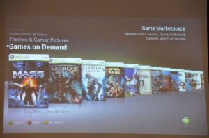 E3 2009 : L'avenir du Xbox Live