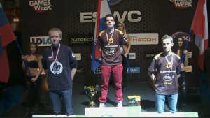 ESWC 2012 : Le podium Trackmania Nations