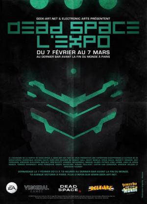 Une expo Dead Space à Paris